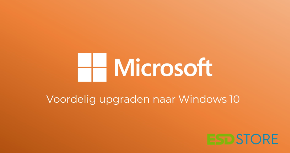 Upgraden Windows 7 naar Windows 10: Goedkoop en betrouwbaar