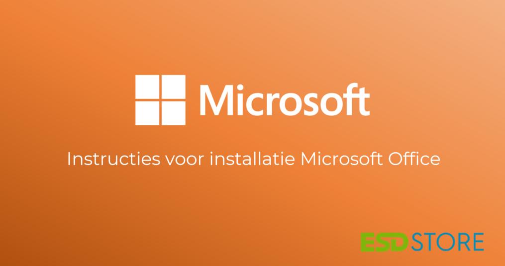 Hoe installeer ik Microsoft Office? Hier een eenvoudig stappenplan