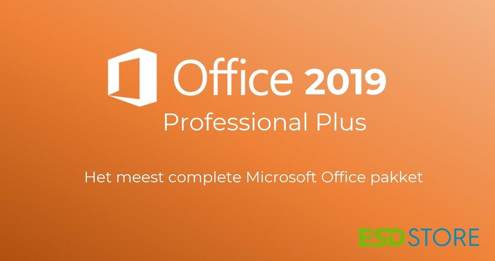 Professional Plus: Het meest complete Microsoft Office Pakket