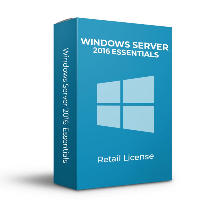 Microsoft Windows Server 2016 Essentials - Retail