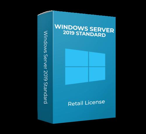 Microsoft Windows Server 2019 Standard - Retail - 16 cores