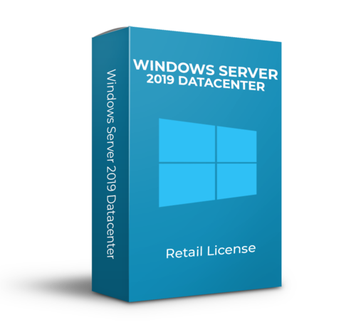 Microsoft Windows Server 2019 Datacenter - Retail - 16 Cores