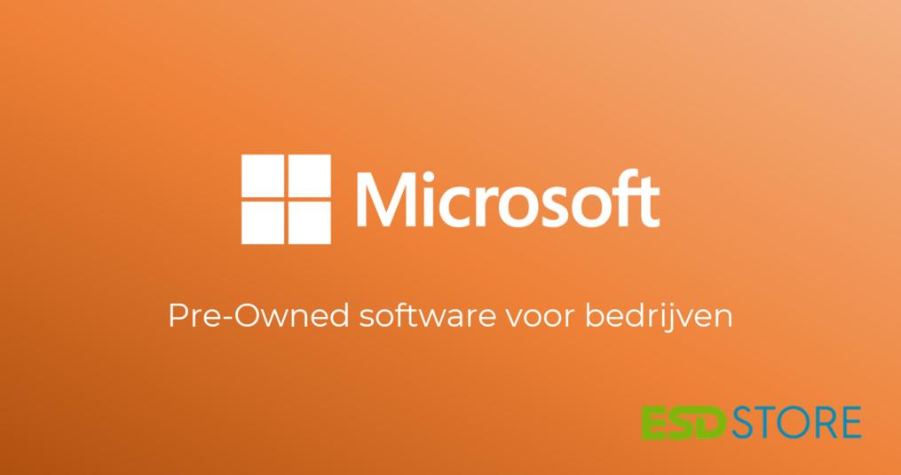 Pre-owned software voor bedrijven: wat zijn de voordelen van tweedehands software?