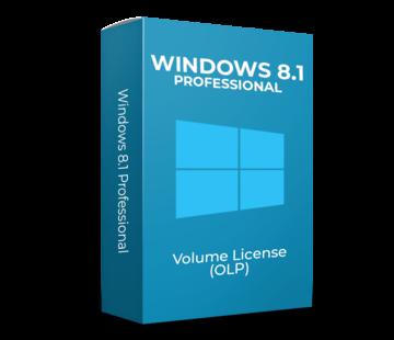 Microsoft Windows 8.1 Professional - Volume Licentie