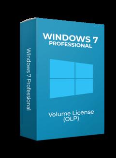 Microsoft Windows 7 Professional - Volume Licentie