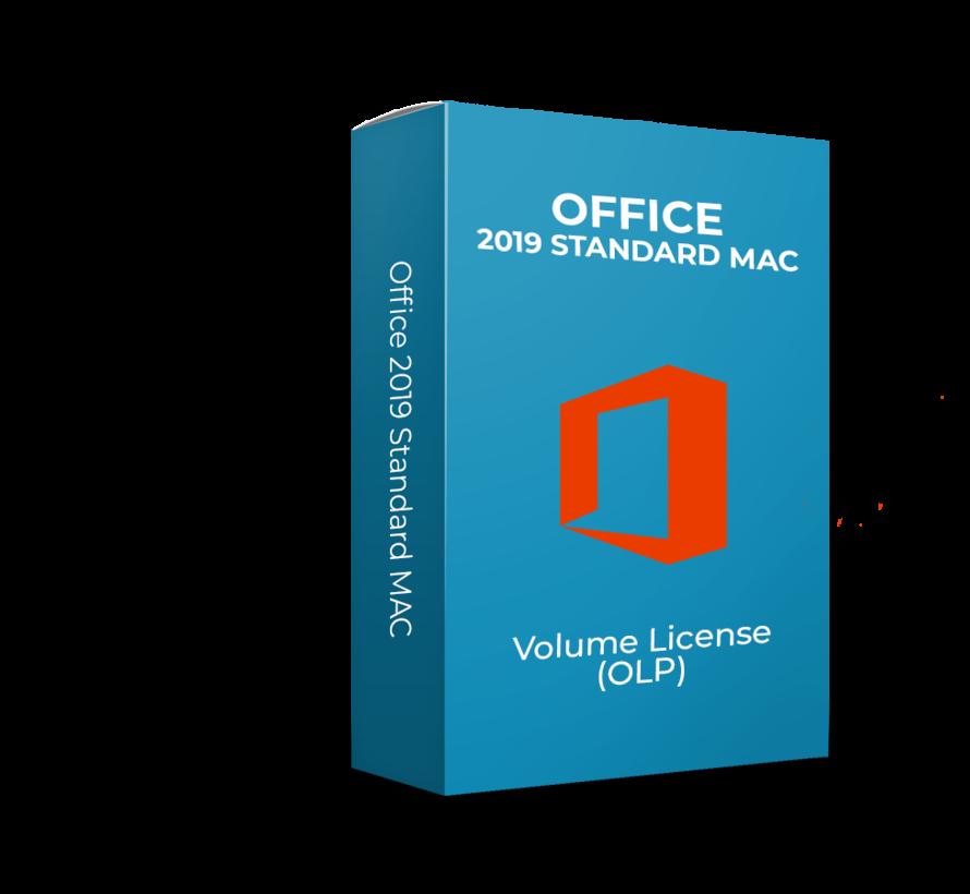 Microsoft Office 2019 Standard - Volume Licentie - Voor Mac - SKU: 021-10609