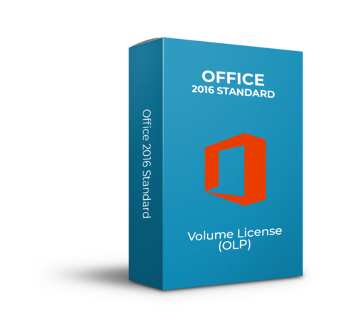 Microsoft Microsoft Office 2016 Standard - Volume Licentie - SKU: 021-10554