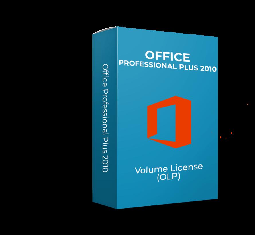 Microsoft Office 2010 Professional Plus - Volume Licentie