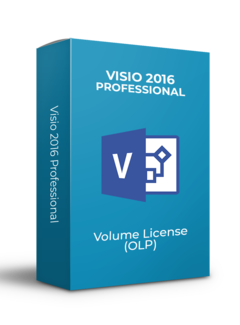 Microsoft Microsoft Visio 2016 Professional - Volume Licentie