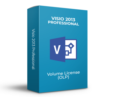 Microsoft Microsoft Visio 2013 Professional - Volume Licentie