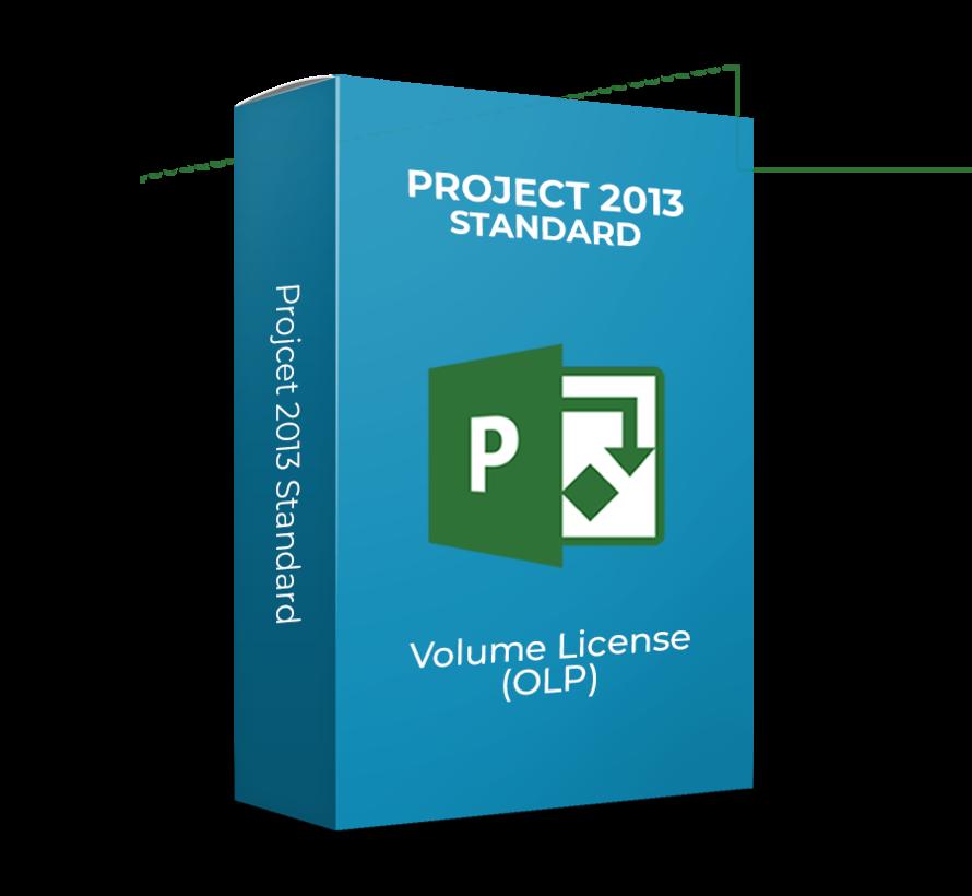 Microsoft Project 2013 Standard - Volume Licentie - SKU: 076-05334