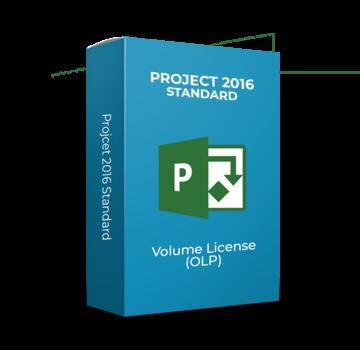 Microsoft Project 2016 Standard - Volume Licentie