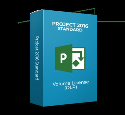Microsoft Project 2016 Standard - Volume Licentie - SKU: 076-05674