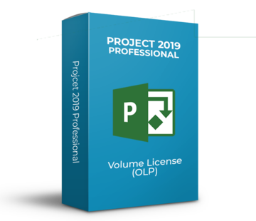 Microsoft Project 2019 Professional - Volume Licentie