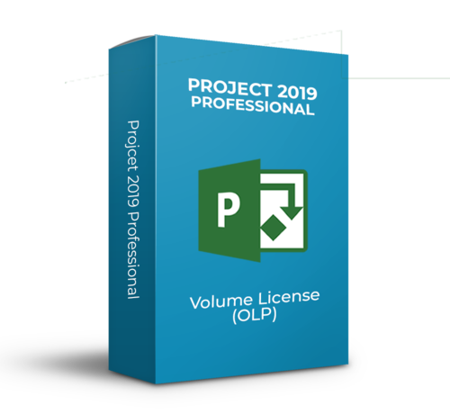 Microsoft Project 2019 Professional - Volume Licentie