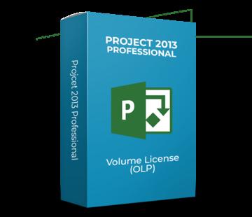 Microsoft Project 2013 Professional - Volume Licentie