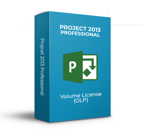 Microsoft Project 2013 Professional - Volume Licentie