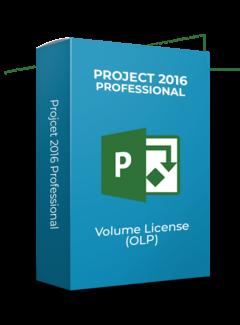 Microsoft Project 2016 Professional - Volume Licentie
