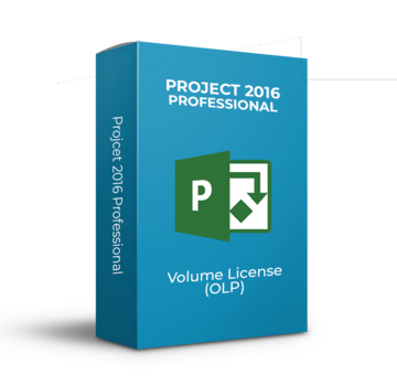 Microsoft Project 2016 Professional - Volume Licentie