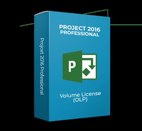Microsoft Project 2016 Professional - Volume Licentie - SKU: 076-05674