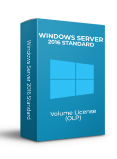 Microsoft Windows Server 2016 Standard - Volume Licentie