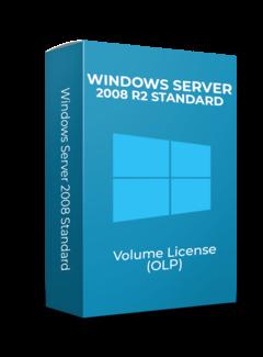 Microsoft Windows Server 2008 R2 Standard - Volume Licentie