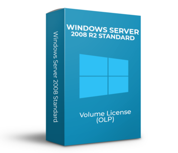 Microsoft Windows Server 2008 R2 Standard - Volume Licentie