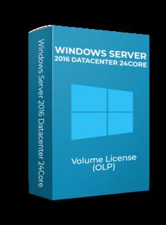 Microsoft Windows Server 2016 Datacenter - 24Core