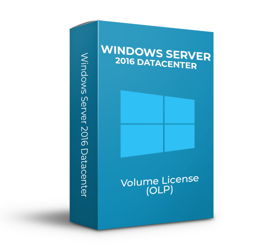 Windows Server 2016 Datacenter - 2Core -  Volume Licentie - SKU: 9EA-00128