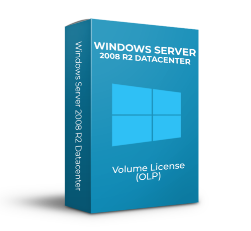 Microsoft Windows Server 2008 R2 Datacenter - Volume Licentie - SKU: P71-06369