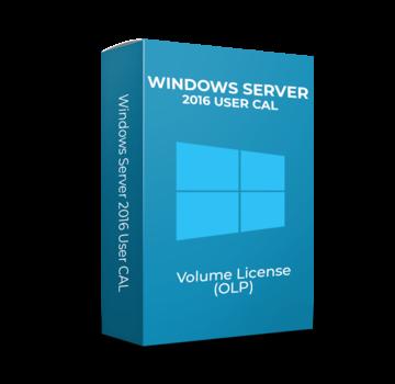 Microsoft Windows Server 2016 User CAL - Volume Licentie
