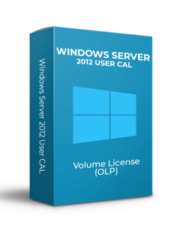 Microsoft Windows Server 2012 User CAL - Volume Licentie