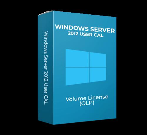 Microsoft Windows Server 2012 User CAL - Volume Licentie - SKU:  R18-04281