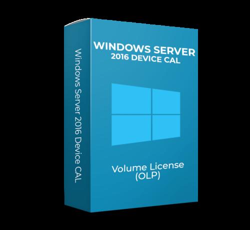 Microsoft Windows Server 2016 Device CAL - Volume Licentie - SKU: R18-05123