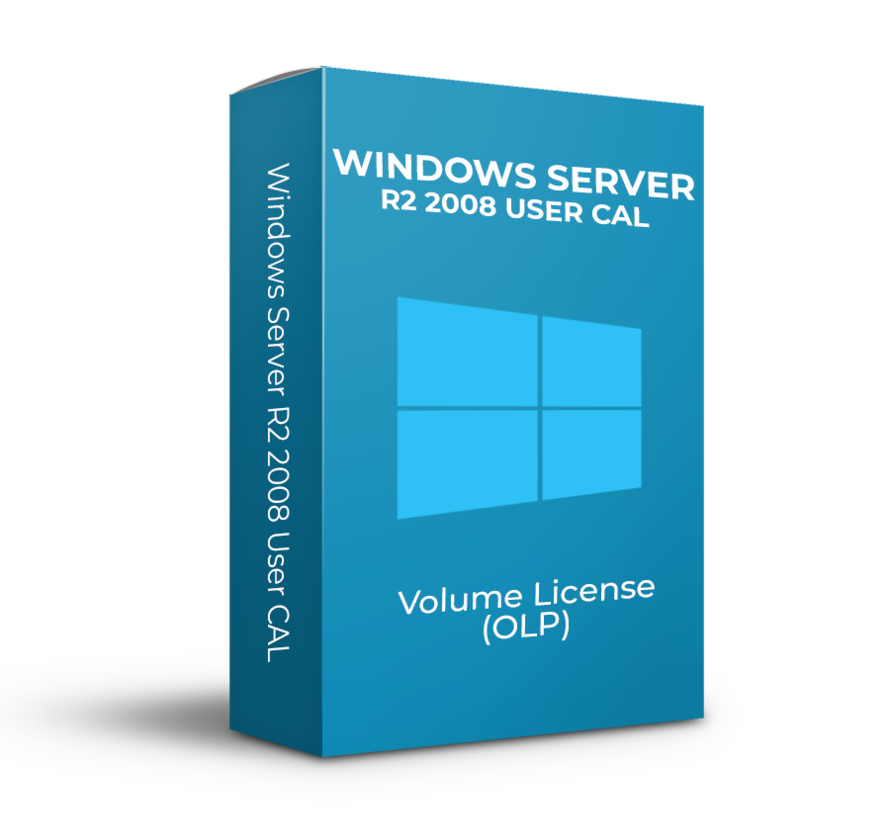 Windows Server R2 2008 User CAL - Volume Licentie - SKU: R18-02709