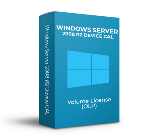 Microsoft Windows Server R2 2008 Device CAL - Volume Licentie - SKU: R18-02729