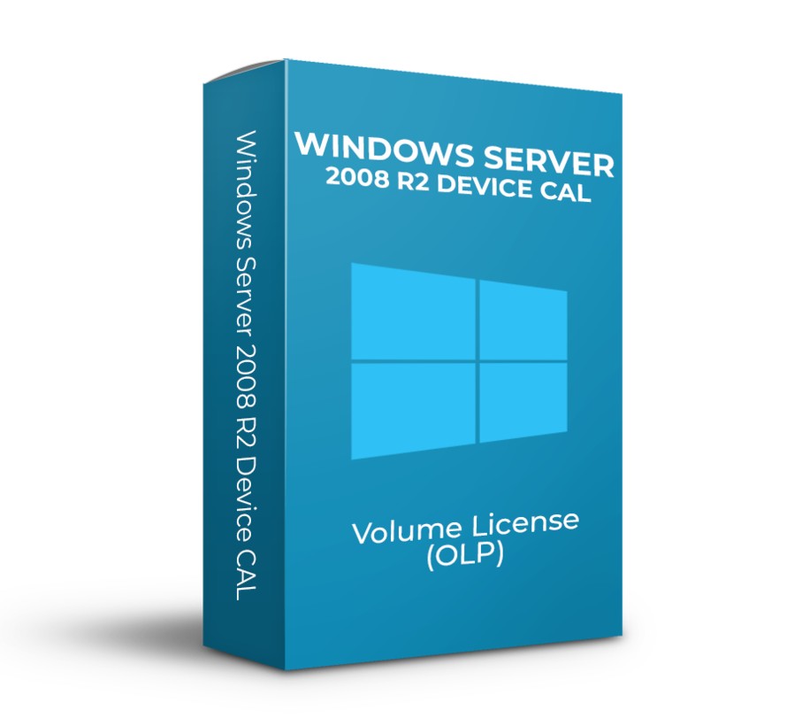 Windows Server R2 2008 Device CAL - Volume Licentie - SKU: R18-02729