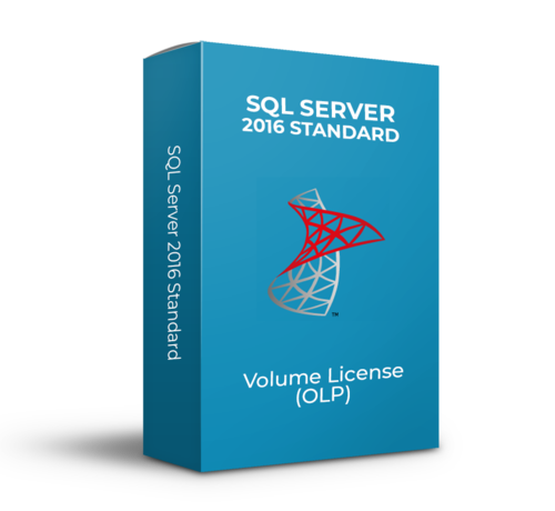 Microsoft SQL Server 2016 Standard - Volume Licentie - SKU: 228-10817