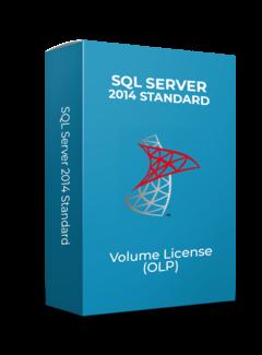 Microsoft SQL Server 2Core 2014 Standard - Volume Licentie