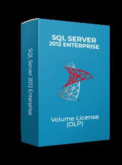 Microsoft SQL Server 2Core 2012 Enterprise - Volume Licentie