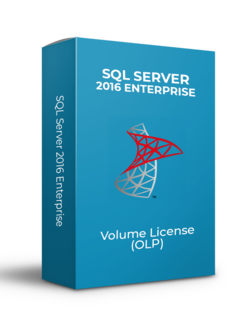 Microsoft SQL Server 2Core 2016 Enterprise - Volume Licentie