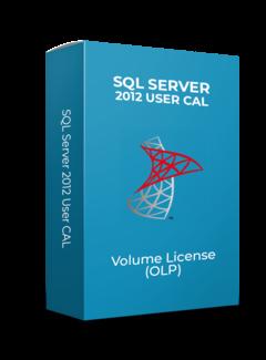 Microsoft SQL Server 2012 User CAL - Volume Licentie