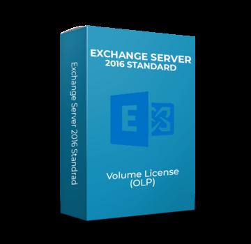 Microsoft Exchange Server 2016 Standard - Volume Licentie