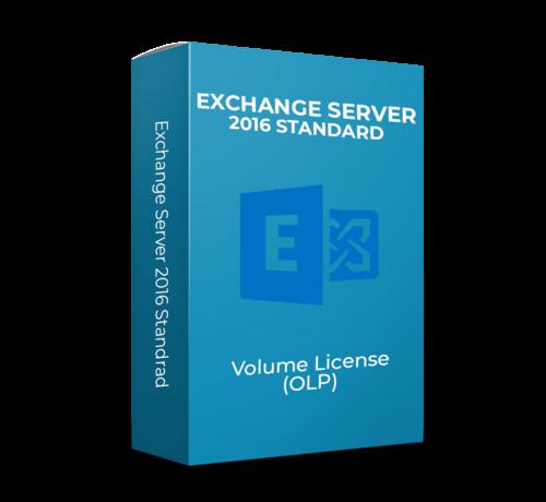 Microsoft Exchange Server 2016 Standard - Volume Licentie - SKU: 312-04349