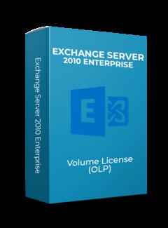 Microsoft Exchange Server 2010 Enterprise - Volume Licentie