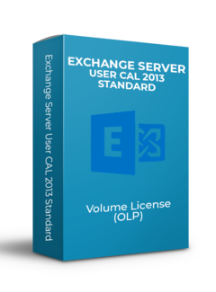 Microsoft Exchange Server User CAL 2013 Standard - Volume Licentie