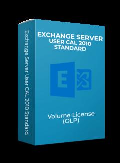 Microsoft Exchange Server User CAL 2010 Standard - Volume Licentie