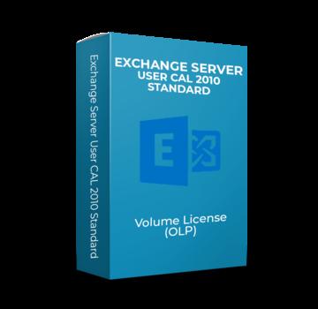 Microsoft Exchange Server User CAL 2010 - Standard