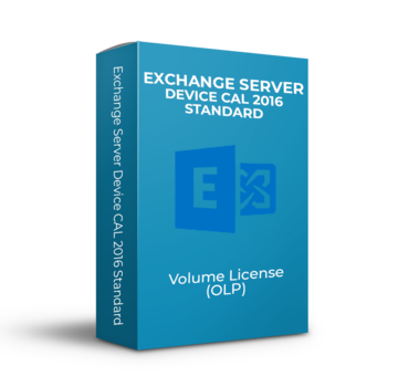 Microsoft Exchange Server Device CAL 2016 Standard - Volume Licentie