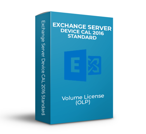 Microsoft Exchange Server Device CAL 2016 Standard - Volume Licentie - SKU: 381-04396